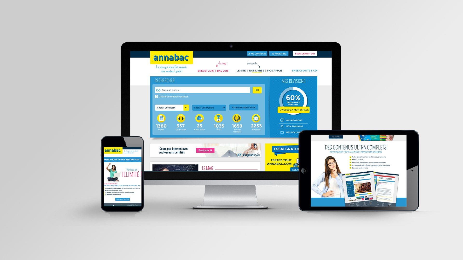 Site internet d'Annabac